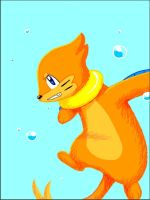 Buizel Aqua Jet by PhantomCrazed