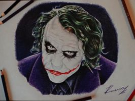 The Joker by Kriscorpion