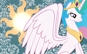 Princess Celestia wall paper6 by AliceHumanSacrifice0
