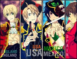 Breaking Pirates APH - UK USA MEX And SPAIN by Iyari-Yolotzin