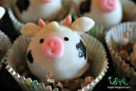 Cow Cake Ball Close Up by SugiAi