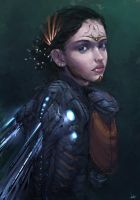 Cyber Fairy... *CONCEPT* by AaronGriffinArt