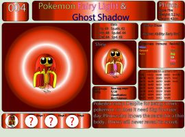 Pokemon Fairy Light and Ghost Shadow ''004'' by AndkeAnka