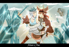 Contest: Arian x Yue...! by NathyLove5