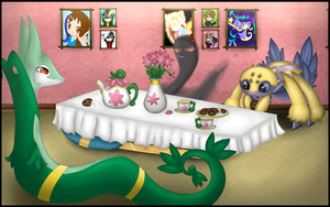 PokeParty by Libra-Dragoness