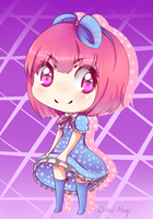 AYA Chibi by the-electric-mage