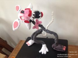 'The Mangle' Pose-able Plush (W.I.P) by InkyBlackKnight