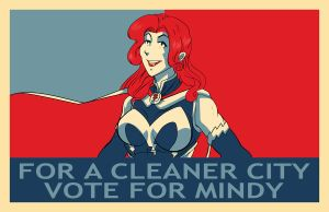 Vote Mindy by Sean-Loco-ODonnell