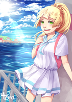 (Pokemon) Lillie - To Kanto by tenofold