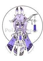 [CLOSED] adopts auction33 - Wind Chime Demon by Polis-adopts