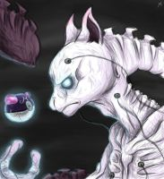 Realistic Mewtwo by AddSomePurple