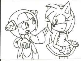 Cosmo asking Amy by cmara