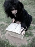 cemetery slut 08 by bloodstainnightmare