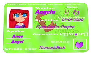 Angela-Cards Carly-Fans by ThomarieRock