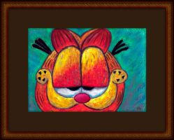 the Face of Garfield by fmr0