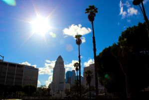 Downtown Los Angeles by jack12321