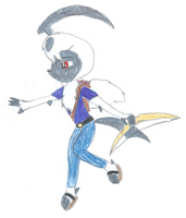 Nero the Absol by KendraTheShinyEevee