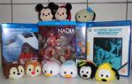 Tsums Tsums and Blu ray titles by ChristianPrime1-Bot