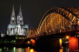 Cologne Cathedral, Koelner Dom by oetzy