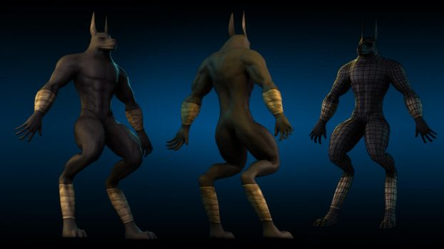 WIP - Anubis by BrotherOfMySister