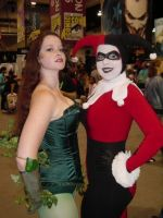 Poison Ivy and Harley Quinn 09 by miss-kitty-j