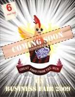 Cups n Chick Poster by kumister