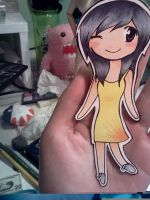 Chibi Cutout 1 - Crystal by donutpolice