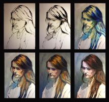 Portrait 05 Step By Step by Rssfim
