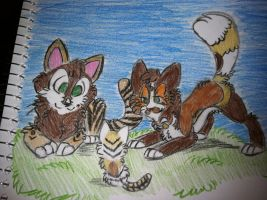 Tigertail's Family by Ekc6