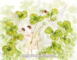 .Faerie and Clovers. by laichro