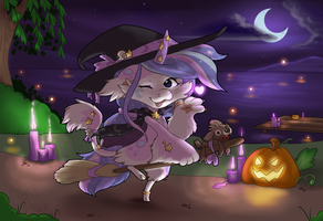 #3 October Prompt: Halloween Costume Contest by Kandy-Cube