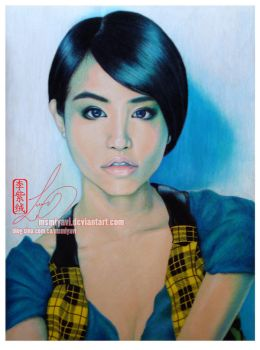 Jolin Tsai by MsMiyavi