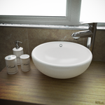Bathroom Sink - 3D Photorealism (Blender) by razfoil