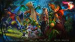 Commission: deep in the hoenn woods by logancure