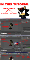 tutorial: texture and move a rigged model by 9303kaha