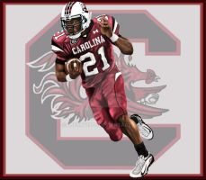 Marcus Lattimore Carolina Gamecocks by lberry1976