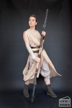 Rey cosplay  star wars01 by Dewbunch