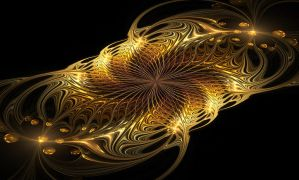 Gold brooch. by Kondratij
