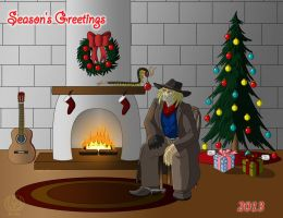 Christmas Card 2013 by Thagirion