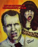Zombie Al and Peggy Bundy by: Mike Vanderhoof by MikeVanderhoof