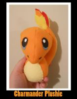 Charmander Chibi PokePlushie by PakajunaTufty