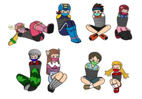 Megaman Battle Network CIDs by SteeL-Loves-Kairi