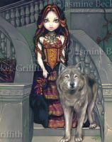 Wolf Countess by jasminetoad