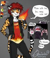 Ref:. Ginger Lin by Magic-Ray