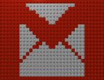 GMail Lego Mosaic by gpsc
