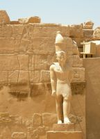 egyptian statue 1 by tailcat