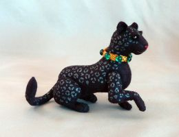 black leopard by Shalladdrin