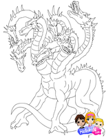 Hydra by Writer-Colorer
