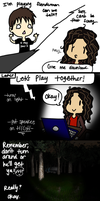 MY FIRST TIME PLAYING SLENDERMAN by Sora-in-my-pants
