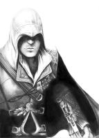 Ezio Auditore Da Firenze by Invader-Shi